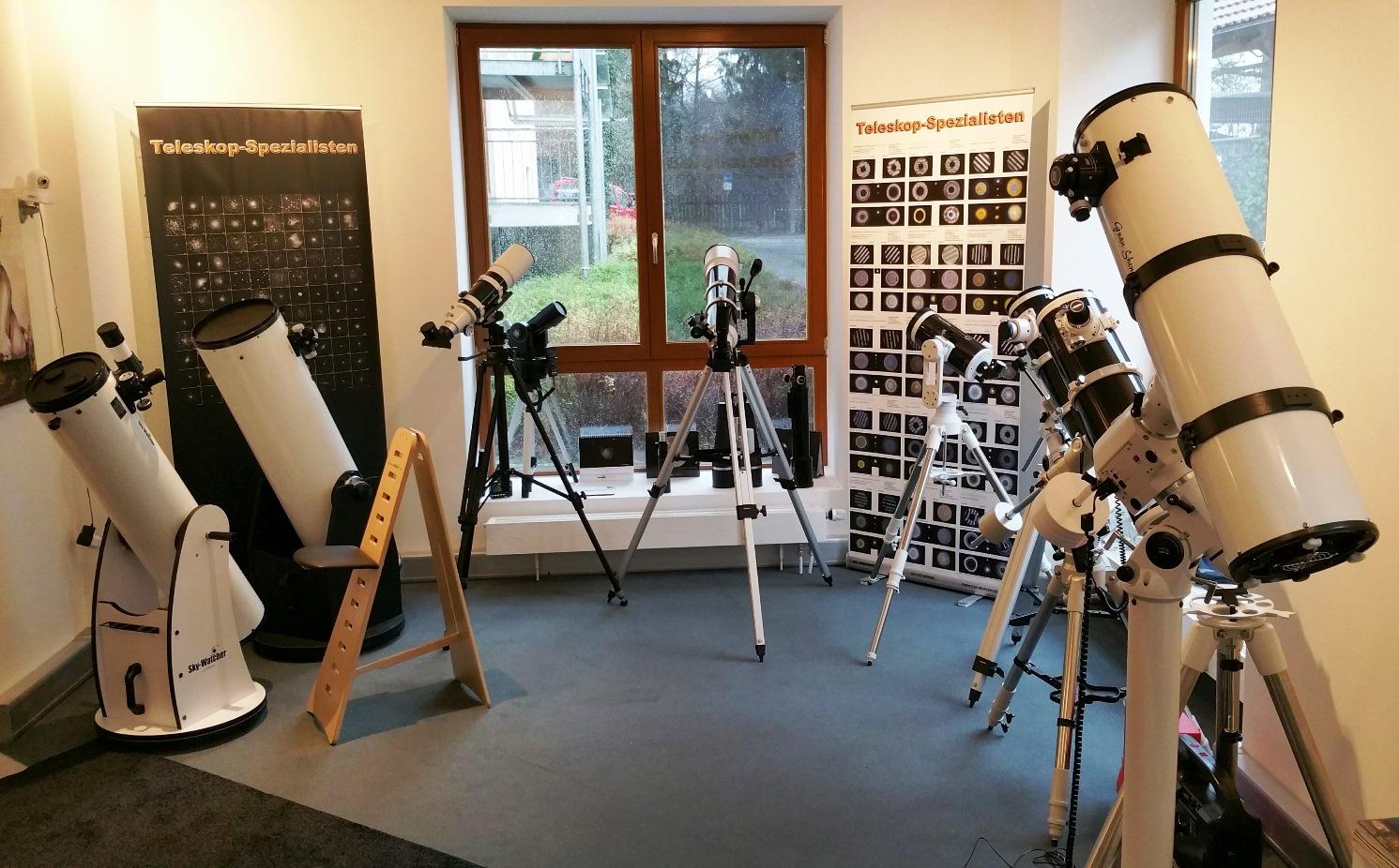 Beratung und Kauf von Teleskopen für Planeten, Mond, Galaxien und mehr