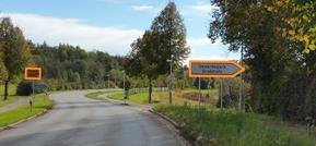 Weg zu den Teleskop Spezialisten bei München