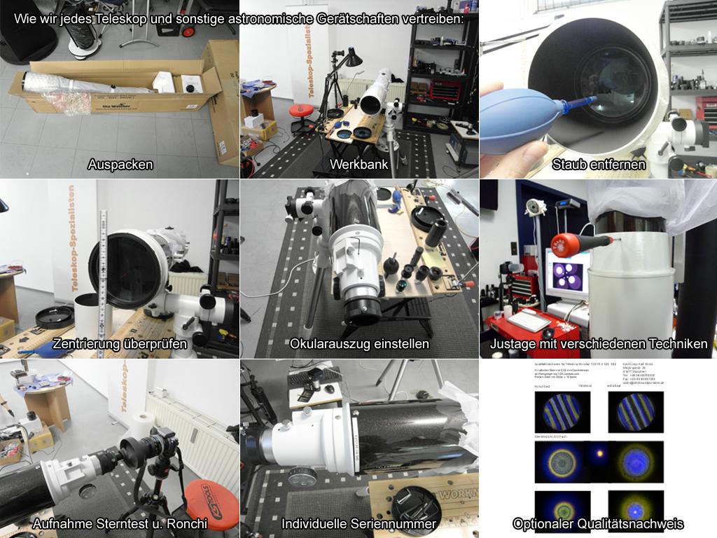 Optiermierung von Teleskop nach Kaufberatung