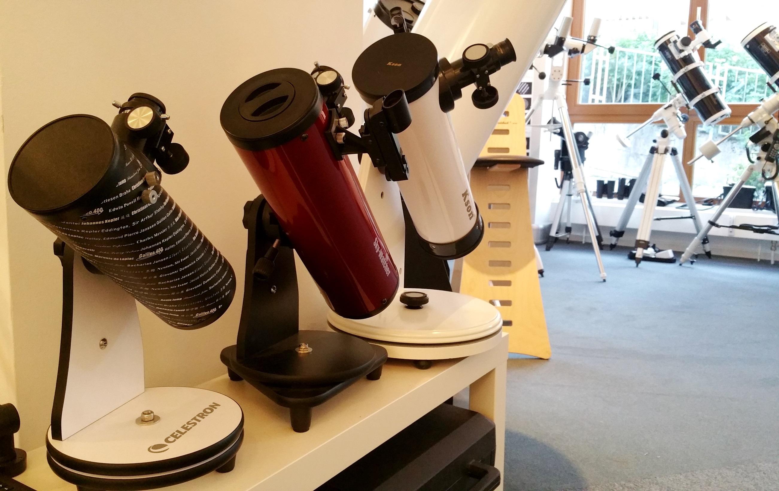 Teleskope für Kinder & Einsteiger