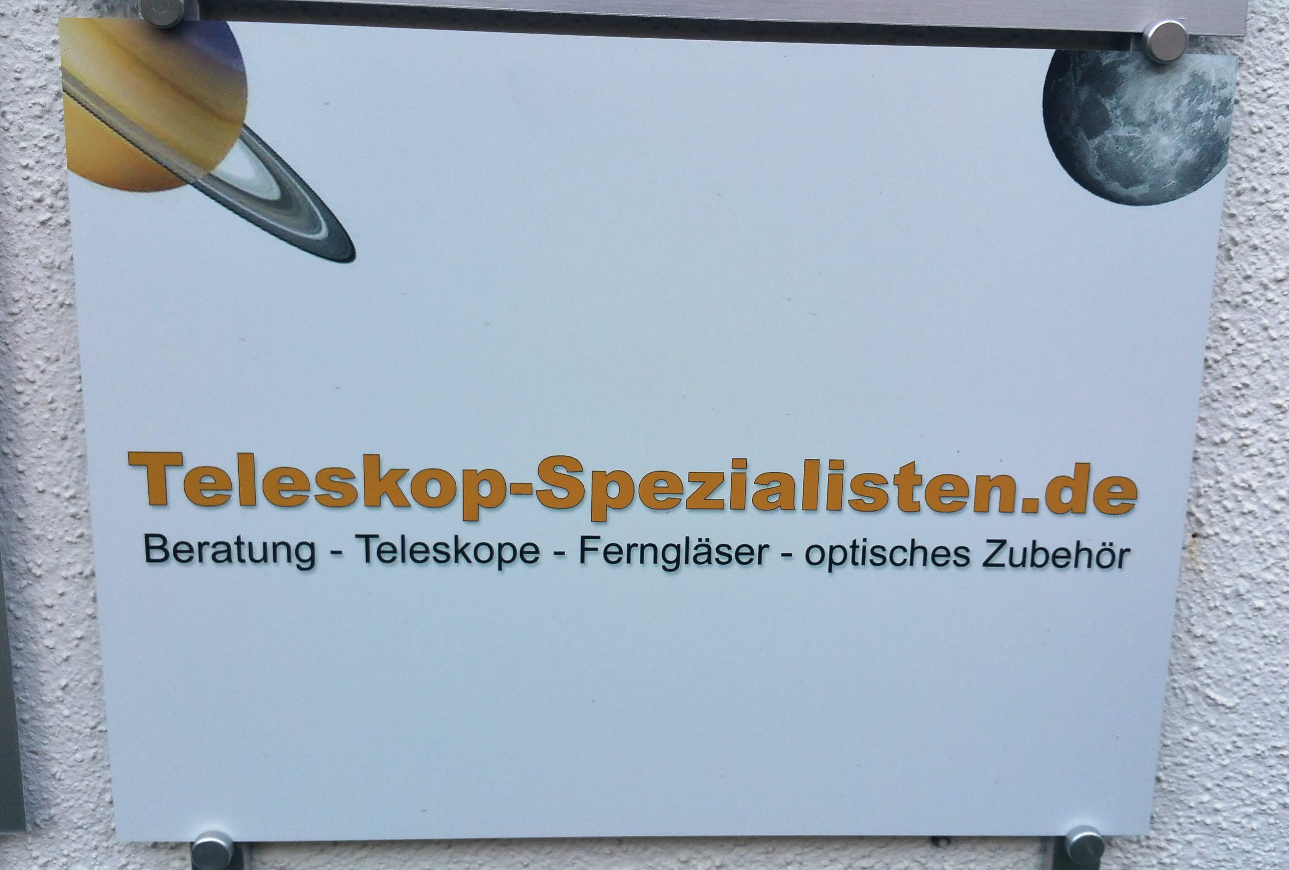 Die Spezialisten für Teleskope, Fernrohre & Astronomie in München