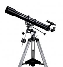 Teleskop Skywatcher Evostar-90 90mm 900mm Refraktor auf EQ-2 Montierung mit Zubehör inkl. Mondfilter Fernrohr