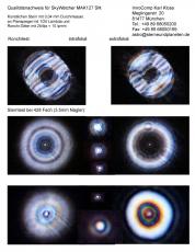 Testbericht mit Sterntest und Ronchi für einen Skywatcher Skymax-127 127mm/1500mm Maksutov
