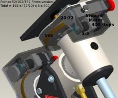 Fornax-102 Montierung bis 90kg