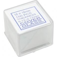 Deckgläser 18x18mm, 100 Stück