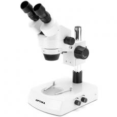 Optika Stereomikroskop für Beruf und Studium mit Zoom, SZM-1, binokular, 7x-45x
