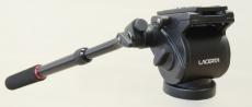 Lacerta Fluid-Videokopf (Hydraulisch gedämpfter Stativkopf) mit 3/8 für Foto-Stative
