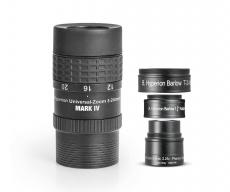 Baader Hyperion Zoom Mark IV 8-24mm Kombi mit 2,25x Barlow 3,5mm bis 24mm Universal Okular