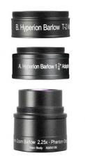 Baader Hyperion 2,25x Barlow Linse mit 1,25 und T2 Anschluss