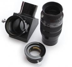 Okularset 2 38mm 70° ERFLE Okular und 2 99% diel. Zenitspiegel
