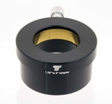 TS2-1 TS Adapter from 2 to 1.25 with brass clamp ring and filter thread