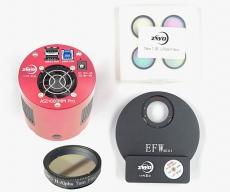ZWO ASI Set 1600MM Pro mit Mini Filterrad, 31 mm LRGB-Set und 31 mm Ha-Filter   ppp