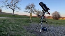 Erfahrung mit TS/GSO 8 f/8 RC mit M51, M101 und Leo Triplett