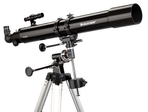 Celestron powerseeker 80eq auf cg2 80 900mm
