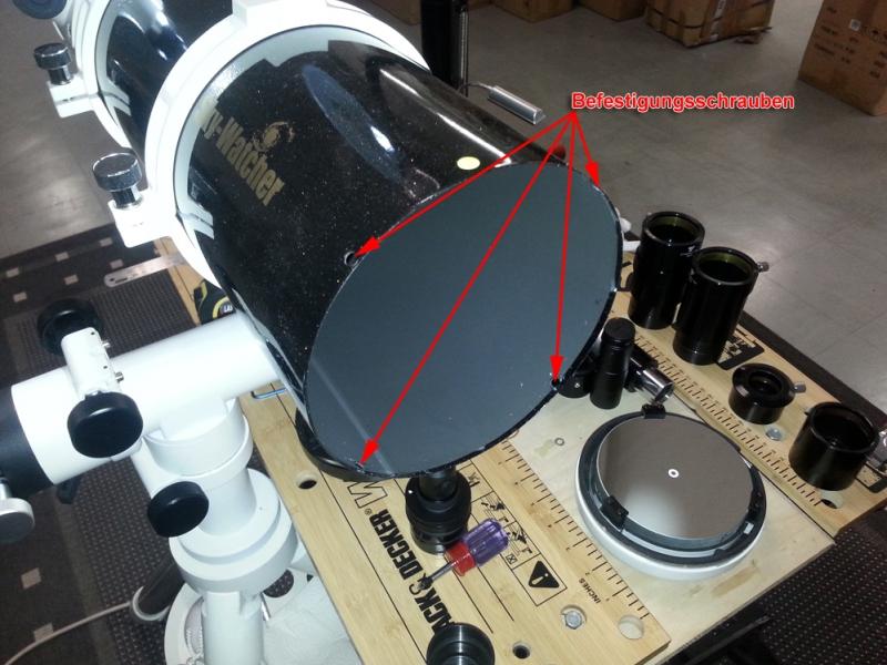 Astrotreff astronomie treffpunkt newton zoll richtig justiert