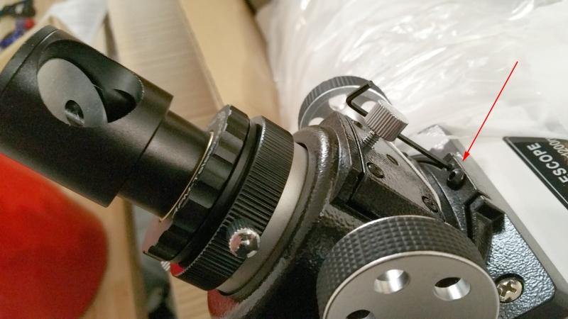 Teleskop express ts justierkappe preiswerte justierhilfe für