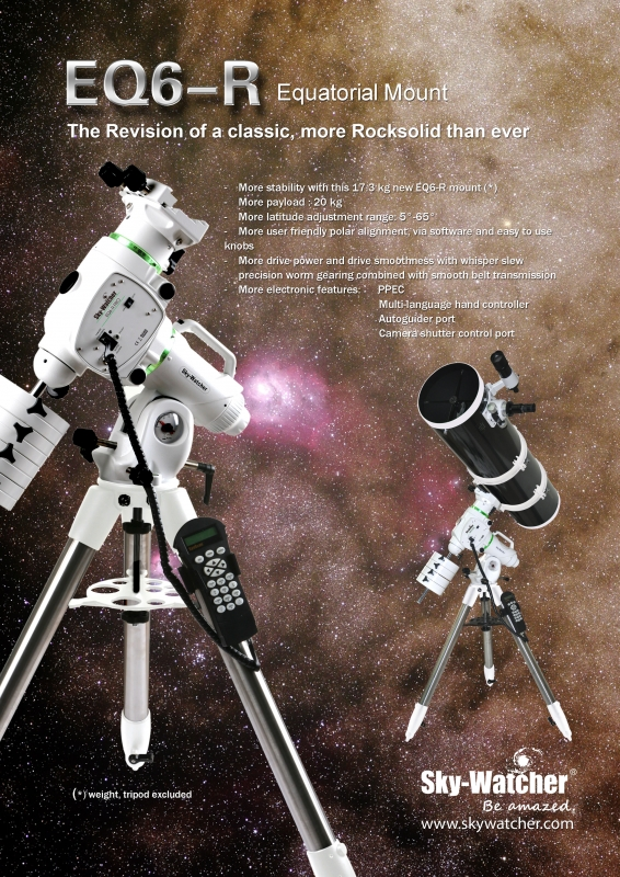 Skywatcher Eq6 R Pro Synscan Parallactic Goto Mount