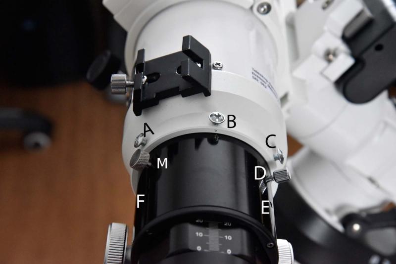 Bresser teleskope einstellen und justieren des hexafoc okularauszug