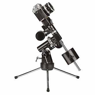 Parallaktische Montierung Skywatcher EQ1 mit Tischstativ