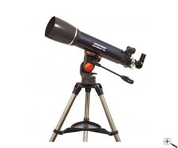 Celestron astromaster 102 mm refraktor teleskop mit sta