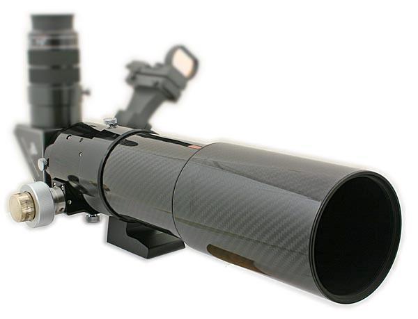 TS 70mm F7 ED Reiseapo Carbon Tubus 2 Zoll Crayford