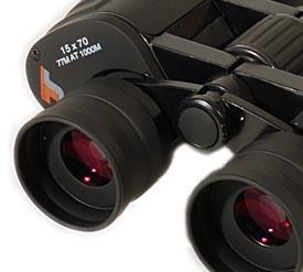 TS LE 15x70 Porro Weitwinkel Fernglas mit besserer Vergütung TS1570LE