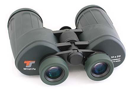 TS1050WF TS Fernglas 10x50 Wildlife - Porro - gummiarmiert - stickstoffgefüllt