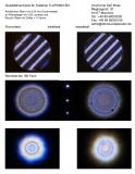 Qualitätsnachweis mit Sterntest und Ronchi für einen TLAPO804 TS Photoline 80/480mm F/6 APO - FPL-53 Triplet