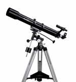 Telescope Skywatcher Evostar-90 90mm 900mm Refractor on EQ-2 mount with accessories