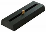 Prismenschiene GP Level mit Langloch und 1/4 Schraube für Kameras, Spektive