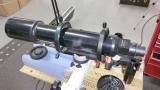 Gebraucht: Celestron Guidescope Leitrohr Set 80mm 600mm f/7,5 mit Leitrohrschellen und Prismenschiene