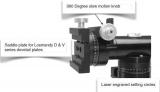 Losmandy AZ8 Azimutale Montierung - Feinverstellung - mit Stativ