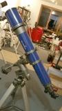 Generalüberholung eines alten SkyWatcher 150/750 Refraktors
