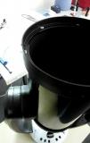 Reparatur eines Celestron C9 1/4 - Spiegelhalterung & Muschelbruch