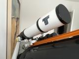 Kleines Teleskop auf ein großes (SC) Teleskop