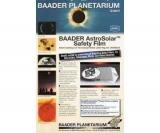 Baader 2459281 - AstroSolar Filterfolie - Visuell - A4-Stück - für sichere Sonnenbeobachtung Sonnenfolie Sonnenfilter
