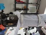 Auf Wunsch montieren wir eine zweite Prismenschiene oben auf die Rohrschellen (Tragegriff)
