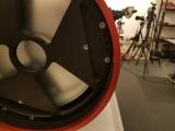 Die Justage-Schrauben der ASA Newton sind sehr Massiv ausgeführt