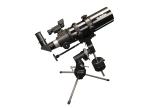 Skywatcher Startravel-80 - 80/400mm Refraktor auf EQ1 Tischstativ