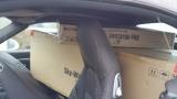 Auch mit einem Porsche 911 Cabrio lässt sich zur Not ein 8 Dobson Teleskop transportieren ;-)