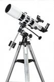 Skywatcher Startravel-102 auf EQ1 Montierung Großfeld Refraktor 102mm 500mm f/5 Teleskop