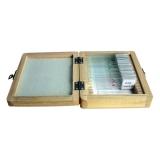 Dauerpräparate Set aus der Tier- und Pflanzenwelt 20 Stück in Holzbox