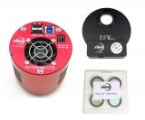 ZWO ASI1600MM-C Foto-Kit aus Kamera, Filterrad und L-RGB-Filter