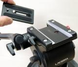 Lacerta TriLac35 - Fotostativ mit Fluid Videokopf