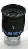 HR8 HR Planetenokular - 8mm Brennweite - 1,25 - 58° WW Feld Planetary  ppp