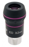 NED3 TS 1,25 ED Okular 3,2 mm - 60° ebenes Bildfeld - hoher Kontrast