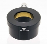TS2-1 TS Adapter von 2 auf 1,25 mit Messingklemmring und Filtergewinde