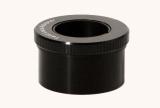 Twist-Lock Adapter 2 auf 1,25 mit Ringklemmung und Filtergeinde