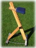 Astrostuhl von TS - aus Holz - höhenverstellbar