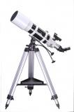 Erfahrung mit Skywatcher Startravel-80 und -120 Großfeld Refraktor Teleskop auf AZ-3 azimutale Montierung und ES Okular